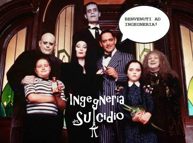 La famiglia Addams faceva ingegneria